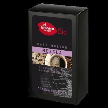 Cafe Mezcla Arabica Robusta Molido
