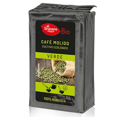 Cafe Verde 100 % Robusta Molido