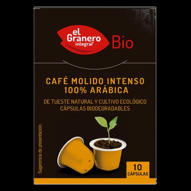 Capsulas CAFE mOLIDO iNTENSO 100% Arabica