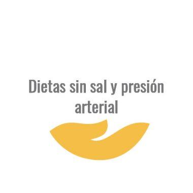 Dietas sin sal y presión arterial