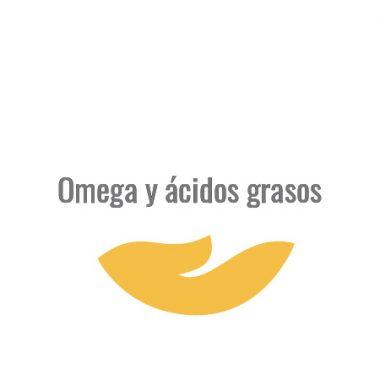 Omega y ácidos grasos